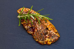 Marinated lamb chop Stock Photos