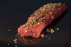 Marinated meat Royalty Free Stock Photos