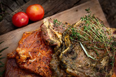 Marinated meat Royalty Free Stock Photo