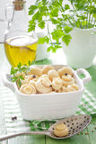 Marinated mushrooms Stock Photography