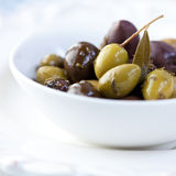 Marinated olives Royalty Free Stock Photography