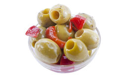 Marinated olives Royalty Free Stock Photography