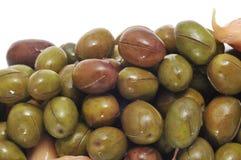 Marinated olives Stock Images