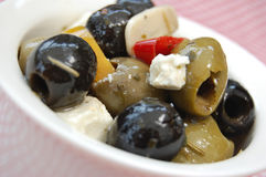 Marinated olives Royalty Free Stock Photos