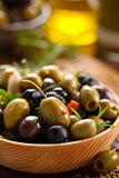 Marinated olives. Stock Photos