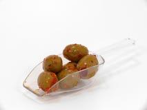 Marinated olives Royalty Free Stock Images