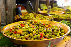 Marinated olives Royalty Free Stock Images