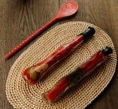 marinated peppar Royaltyfri Fotografi
