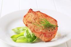 Marinated pork chop Stock Photography
