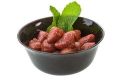 Marinated strawberry Royalty Free Stock Photo