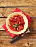 Marinated sun dried tomatoes Stock Image