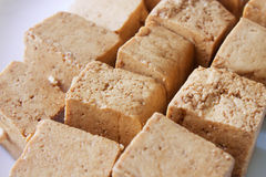 Marinated tofu Royalty Free Stock Images
