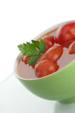Marinated tomatoes Stock Images