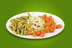 Marinated vegetables Stock Photos