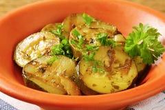 Marinated Zucchini Stock Image
