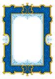 """Marinblå """"för tappningramâ – 1003 Arkivbild"""