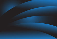 Marinblå bakgrund för lutningabstrakt begreppmörker vektor illustrationer