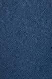 Marinblå lädertexturbakgrund Arkivfoton