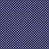 Marinblå och vit liten polka Dots Pattern Repeat Background Royaltyfria Bilder