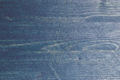 Marinblå wood textur Mörker - blå Wood bakgrund Closeupsikt av blå wood textur och bakgrund abstrakt bakgrund Royaltyfri Fotografi