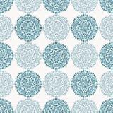 Marinblått snöra åt blommamodellen på vit bakgrund Arkivbilder