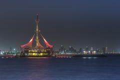 Marinda väv som är resturant i Kuwait Fotografering för Bildbyråer