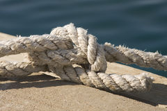 In marine. I spend a great sunny day in one of croatian marine Royalty Free Stock Photography