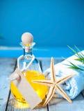Marine aromatherapy spa treatment Stock Photos