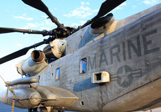 Marine attack helicopter Stock Photo
