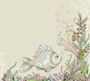 Marine background Royalty Free Stock Image