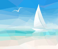 Marine background Royalty Free Stock Images