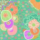 Marine background color. Vector graphic illustration design art Stock Images