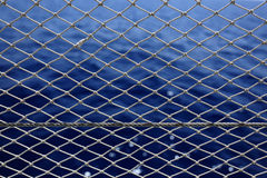 Marine background and net Stock Photos