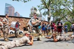 Marine band Stock Image