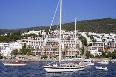 Marine bei Bodrum, die Türkei Lizenzfreies Stockfoto