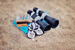 Marine binoculars Stock Photography