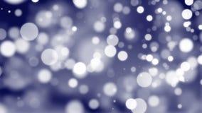 Marine-Blau-dunkler neues Jahr Loopable-Hintergrund stock video