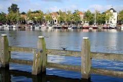 Marine in Blokzijl - in den Niederlanden Stockbilder