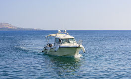Marine boat. Rhodes. Greece Stock Photo