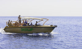 Marine boat. Rhodes. Greece Royalty Free Stock Image