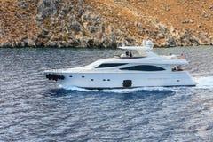 Marine boat. Rhodes. Greece Stock Photo