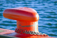 Marine Bollard Stock Image