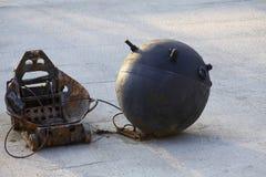 Marine bomb Stock Images