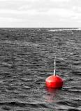 Marine buoy stock image