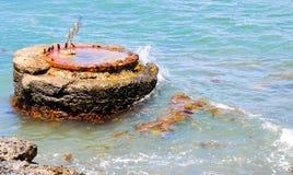 Marine Buoy Close-up Stock Images