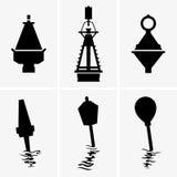 Marine buoys Royalty Free Stock Image
