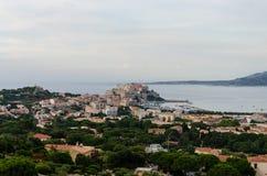 Marine Calvi. Calvi in the sea in Corsica Royalty Free Stock Photos