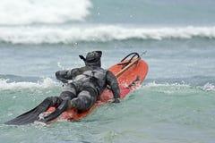 Marine camouflage Royalty Free Stock Image
