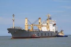 Marine cargo Stock Image