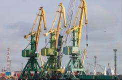 Marine Cargo Terminal Royalty Free Stock Image